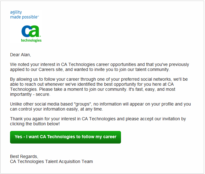 CA Email