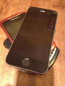 iPhones and Blackberrys